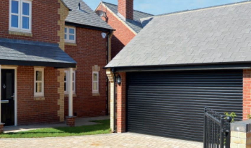 Roller Garage Doors Black